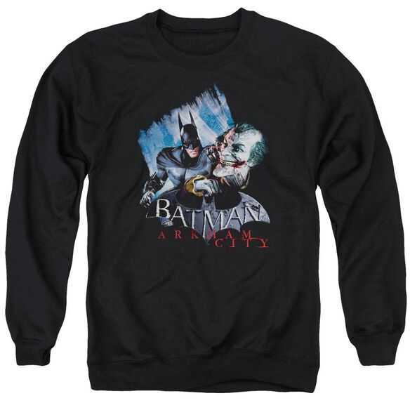 Arkham City Joke'S On You! Adult Crewneck Sweatshirt