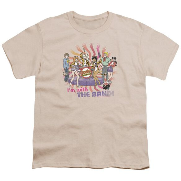 Archie Comics With The Band Short Sleeve Youth T-Shirt