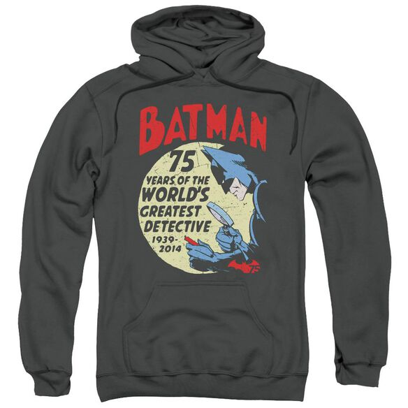 Batman Detective 75 Adult Pull Over Hoodie