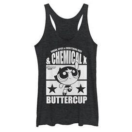 Powerpuff Girls Buttercup Tank Top Juniors T-Shirt