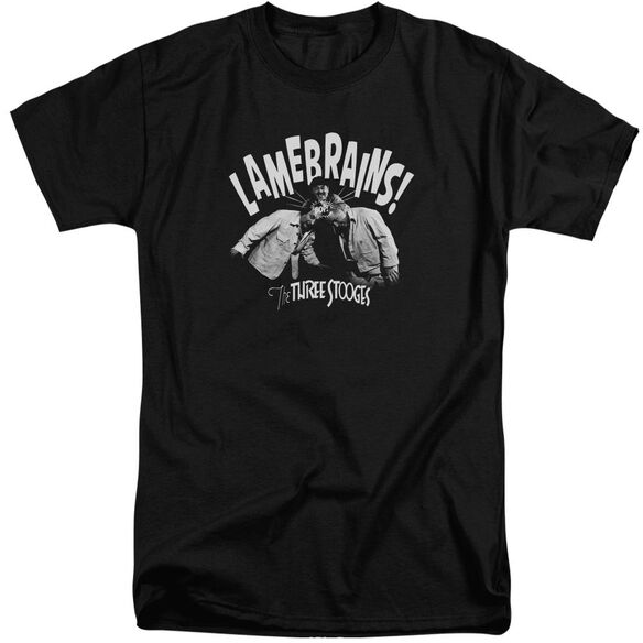 Three Stooges Lamebrains Short Sleeve Adult Tall T-Shirt