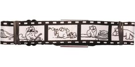 Simon's Cat Filmstrip Seatbelt Belt