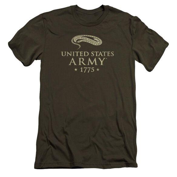 Army We'll Defend Premuim Canvas Adult Slim Fit Military