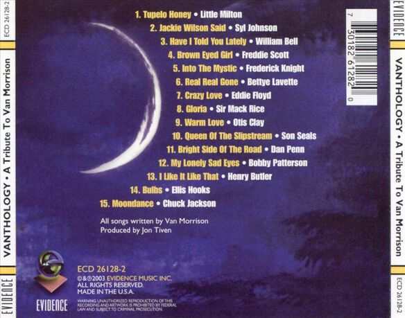 Vanthology: Tribute To Van Morrison / Various