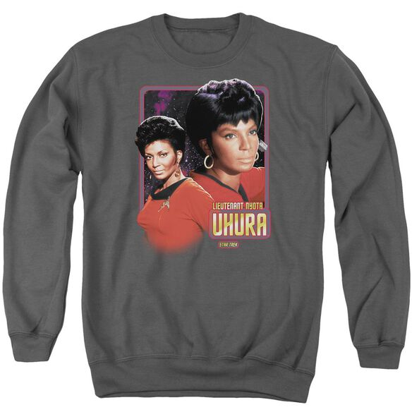Star Trek Lieutenant Uhura Adult Crewneck Sweatshirt