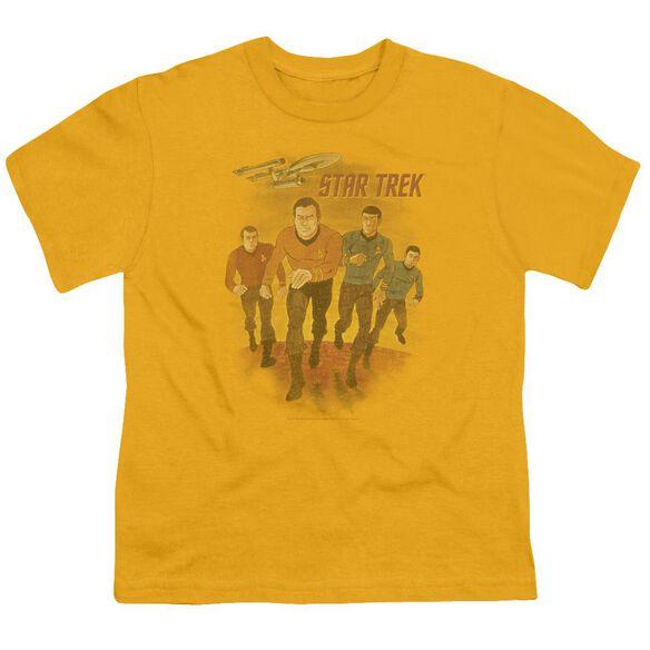 Star Trek Animated Short Sleeve Youth T-Shirt