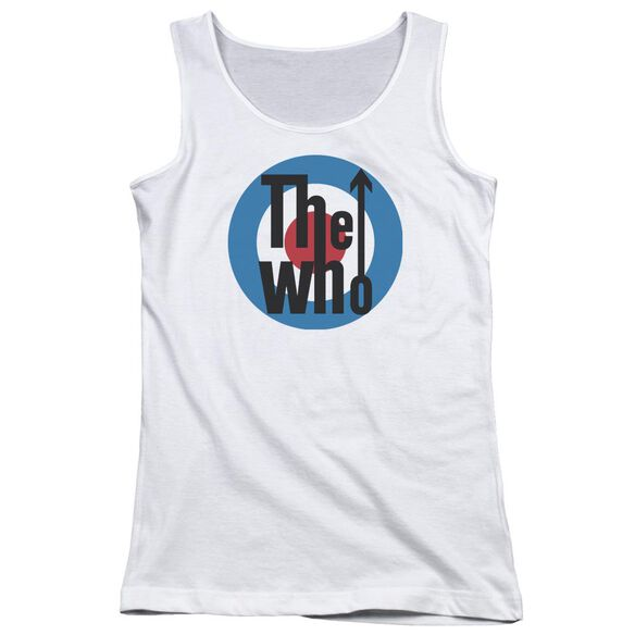 The Who Logo Juniors Tank Top