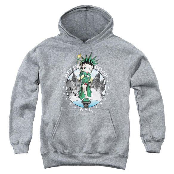 Betty Boop Nyc Youth Pull Over Hoodie
