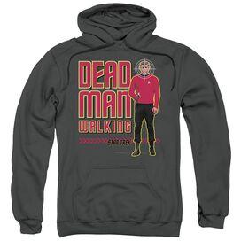Star Trek Dead Man Walking Adult Pull Over Hoodie
