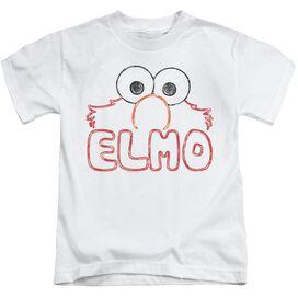 Sesame Street Elmo Letters Short Sleeve Juvenile T-Shirt