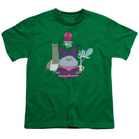 Chowder Group Short Sleeve Youth Kelly T-Shirt
