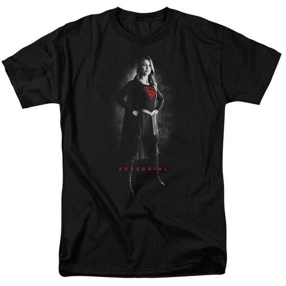 Supergirl Supergirl Noir Short Sleeve Adult T-Shirt