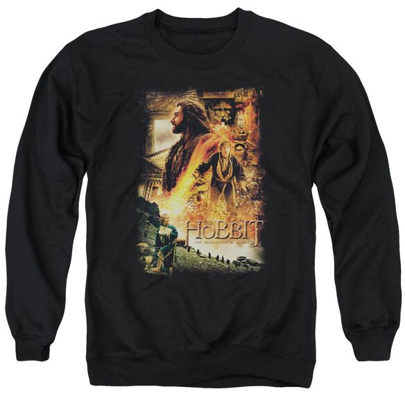 Hobbit Golden Chamber Adult Crewneck Sweatshirt