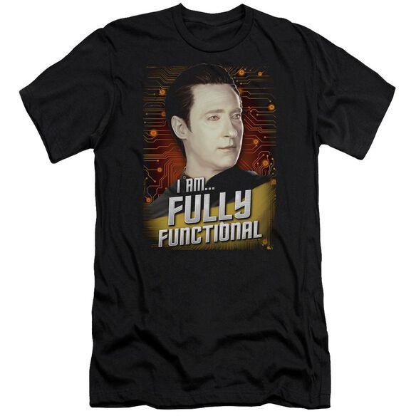 Star Trek Fully Functional Hbo Short Sleeve Adult T-Shirt