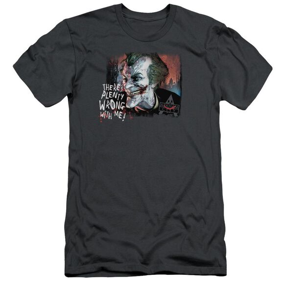 Arkham City Plenty Wrong Short Sleeve Adult T-Shirt