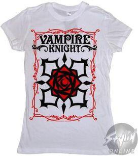 Vampire Knight Flower Baby Tee
