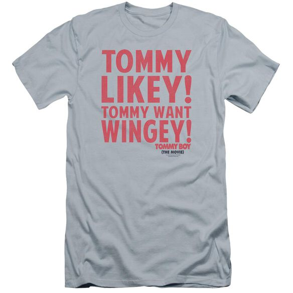 Tommy Boy Want Wingey Premuim Canvas Adult Slim Fit Light