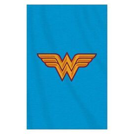 Wonder Woman Logo Supersized Sweatshirt Throw Blanket