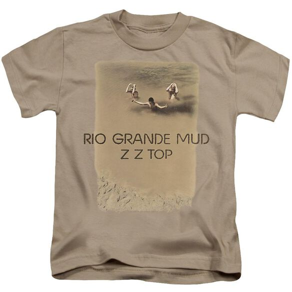 Zz Top Rio Grande Mud Short Sleeve Juvenile Sand T-Shirt
