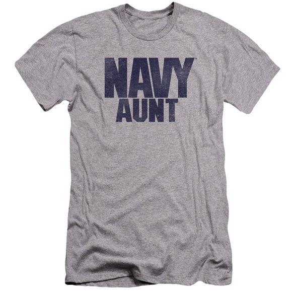 Navy Aunt Premuim Canvas Adult Slim Fit Athletic