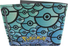 Pokemon Gengar Poke Balls Bi-fold Wallet