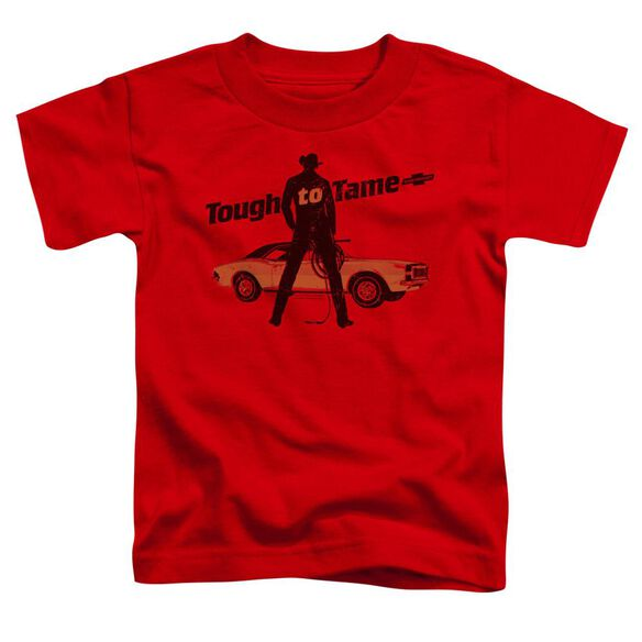 Chevrolet Tough To Tame Short Sleeve Toddler Tee Red T-Shirt