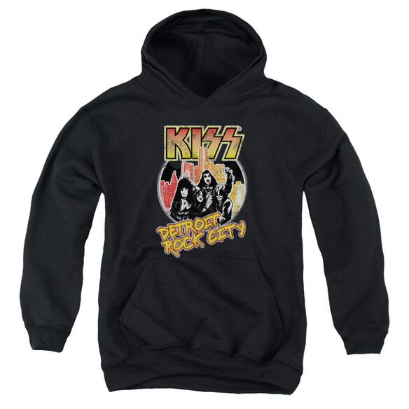 Kiss Detroit Rock City Youth Pull Over Hoodie