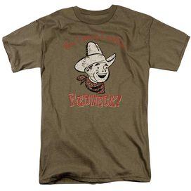 Redneck Short Sleeve Adult Safari Green T-Shirt