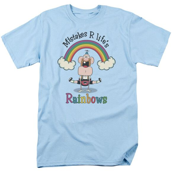 Uncle Grandpa Lifes Rainbows Short Sleeve Adult Light T-Shirt
