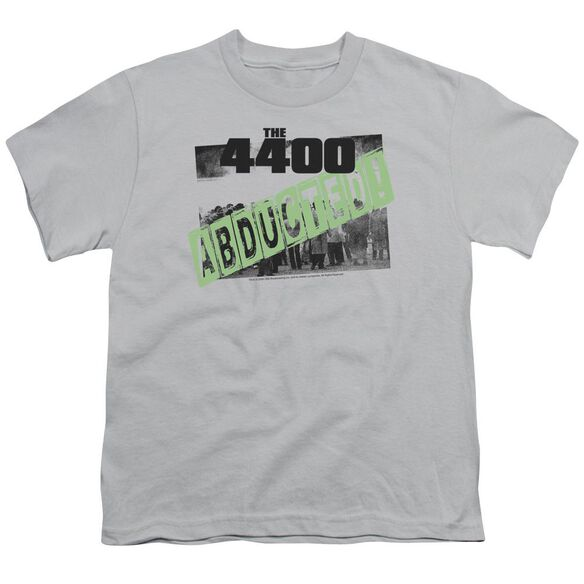 4400 ABDUCTED - S/S YOUTH 18/1 - SILVER T-Shirt