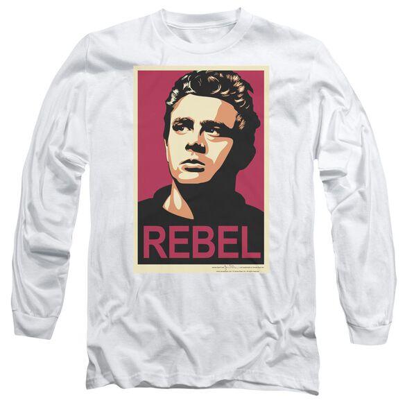 Dean Rebel Campaign Long Sleeve Adult T-Shirt
