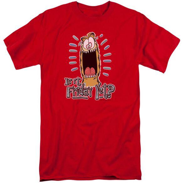Garfield Friday Short Sleeve Adult Tall T-Shirt