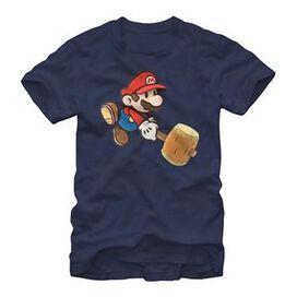 Mario Paper Hammer Swing T-Shirt