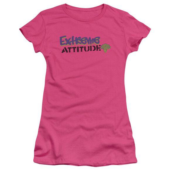 Warheads Extreme Short Sleeve Junior Sheer Hot T-Shirt