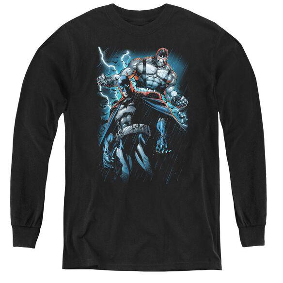 Batman Evil Rising - Youth Long Sleeve Tee - Black