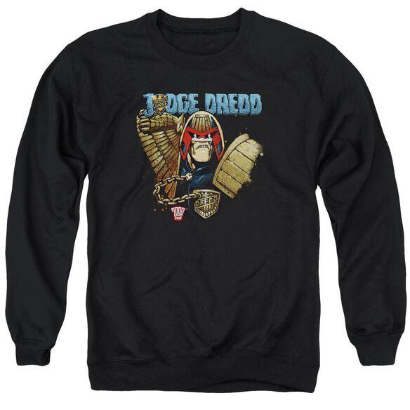 Judge Dredd Smile Scumbag Adult Crewneck Sweatshirt