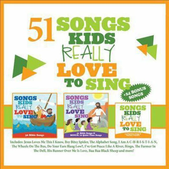 51 Songs Kids Really Love To Sing 2014 / Various
