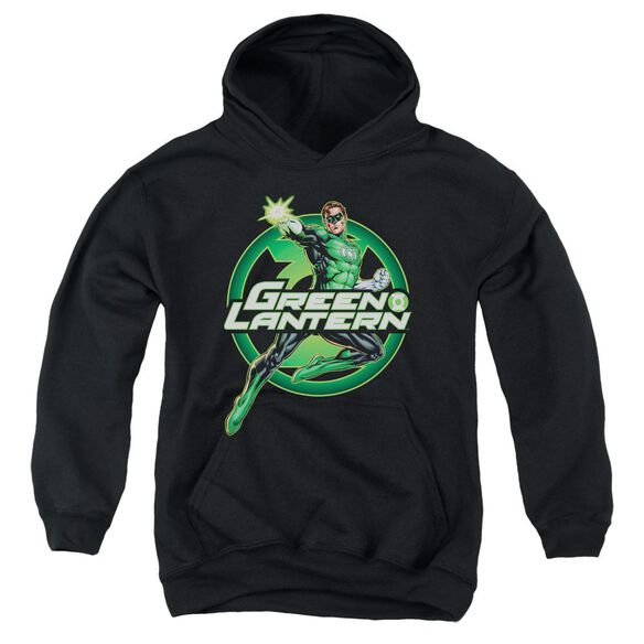 Jla Lantern Glow Youth Pull Over Hoodie