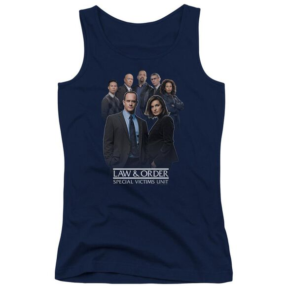 Law And Order Svu Team Juniors Tank Top