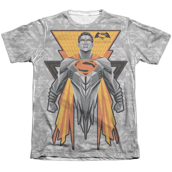 Batman V Superman Super Tech Sub Adult Poly Cotton Short Sleeve Tee T-Shirt