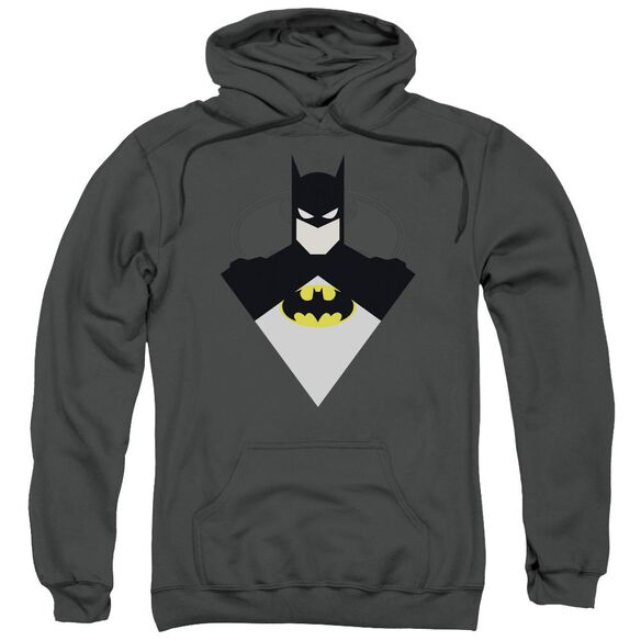 Batman Simple Bat Adult Pull Over Hoodie