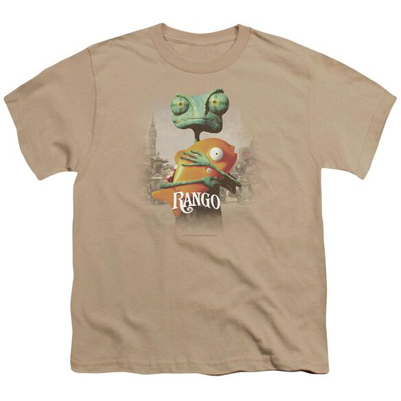 Rango Poster Art Short Sleeve Youth T-Shirt