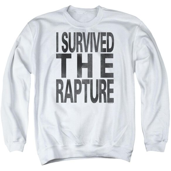I Survived The Rapture Adult Crewneck Sweatshirt