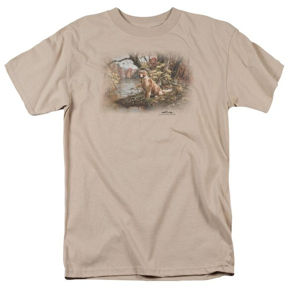 Wildlife Ready To Go On Short Sleeve Adult Sand T-Shirt