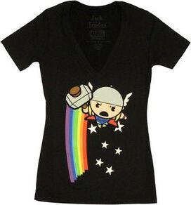 Thor Toy Rainbow Baby Tee