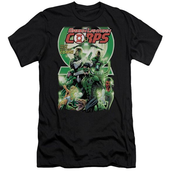 Green Lantern Gl Corps #25 Cover Short Sleeve Adult T-Shirt