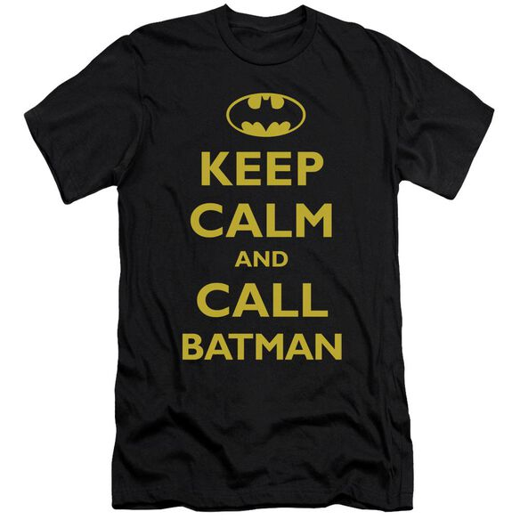 Batman Call Batman Short Sleeve Adult T-Shirt
