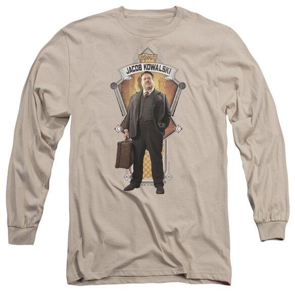 Fantastic Beasts Jacob Kowalski Long Sleeve Adult T-Shirt