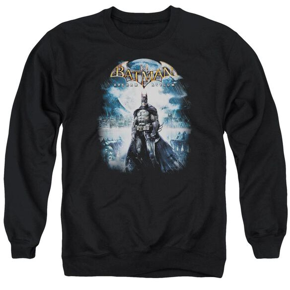 Batman Aa Game Cover Adult Crewneck Sweatshirt