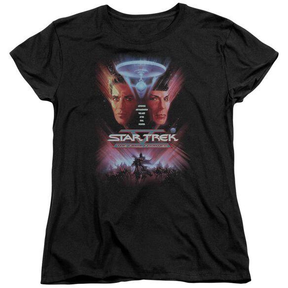 Star Trek The Final Frontier(Movie) Short Sleeve Women's Tee T-Shirt